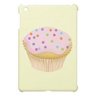 ピンクのカップケーキ iPad MINIカバー