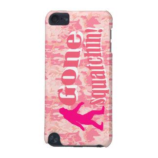 ピンクのカムフラージュの行ったSquatching iPod Touch 5G ケース