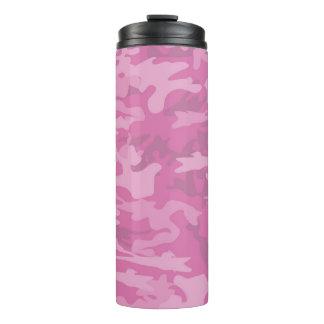 ピンクのカムフラージュ/迷彩柄の上昇温暖気流のタンブラー タンブラー