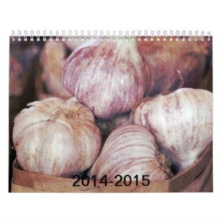ピンクのカレンダー2014-2015年 カレンダー