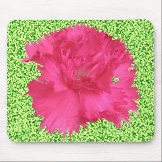 ピンクのカーネーションのマウスパッド マウスパッド