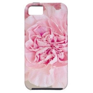 ピンクのカーネーションの花 iPhone 5 カバー