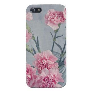 ピンクのカーネーション iPhone 5 ケース