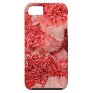 ピンクのカーネーションiphone5の箱 Case-Mate iPhone 5 ケース
