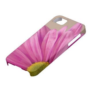 ピンクのガーベラのデイジーのiPhone 5の穹窖 iPhone SE/5/5s ケース
