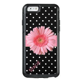 ピンクのガーベラのデイジーのOtterboxのiPhone 6Sの場合 オッターボックスiPhone 6/6sケース