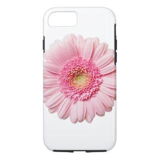 ピンクのガーベラのデイジーのVibeのiPhone 7の場合 iPhone 8/7ケース