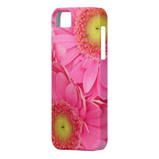 ピンクのガーベラのデイジー iPhone SE/5/5s ケース