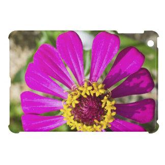 ピンクのガーベラの花のipadの場合 iPad miniケース
