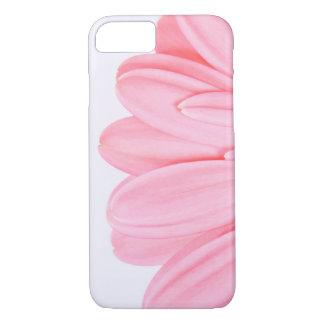 ピンクのガーベラの花弁 iPhone 8/7ケース