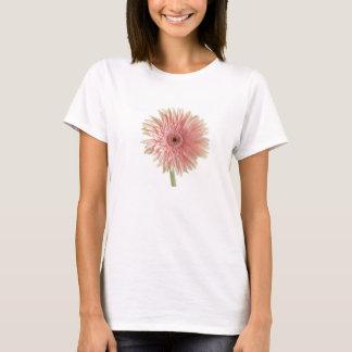 ピンクのガーベラの花 Tシャツ
