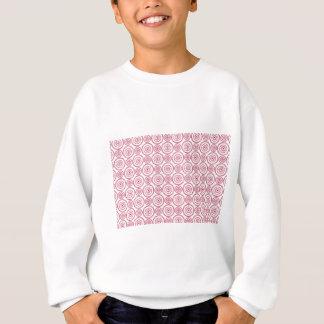 ピンクのガーリーな円 スウェットシャツ