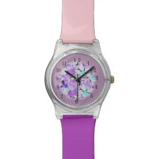 ピンクのガーリーな腕時計 腕時計