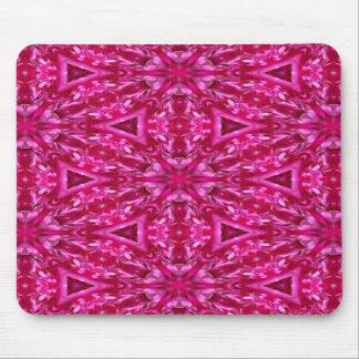 ピンクのキャベツばら色の三角形5072 マウスパッド