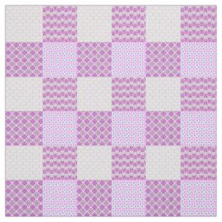 ピンクのキルトはパターンPersonalizableを好みます ファブリック