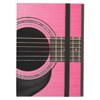 ピンクのギターのパッド iPad AIRケース