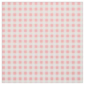 ピンクのギンガム ファブリック