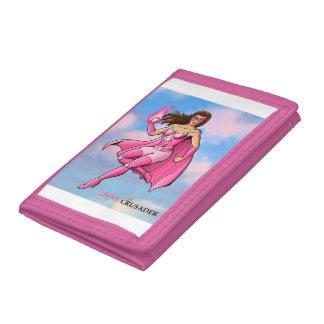 ピンクのクルセーダーの乳癌の認識度の財布3