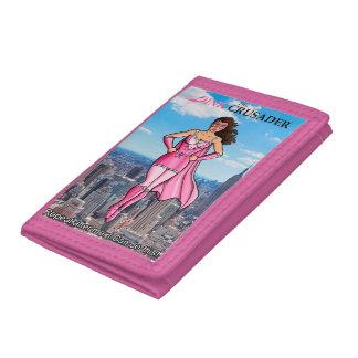 ピンクのクルセーダーの乳癌の認識度の財布4