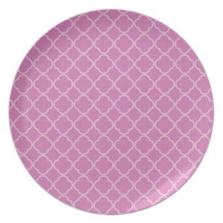 ピンクのクローバー プレート