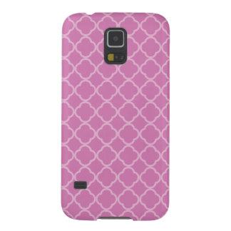 ピンクのクローバー GALAXY S5 ケース