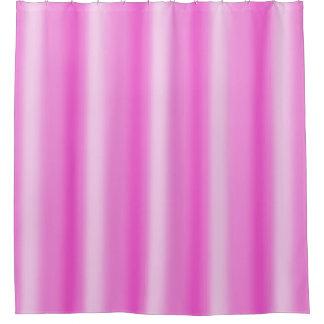 ピンクのグラデーションなシャワー・カーテン シャワーカーテン