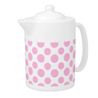 ピンクのグラデーションな水玉模様