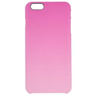 ピンクのグラデーション クリア iPhone 6 PLUSケース