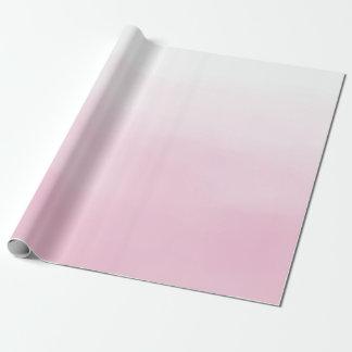 ピンクのグラデーション ラッピングペーパー