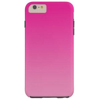 ピンクのグラデーション TOUGH iPhone 6 PLUS ケース