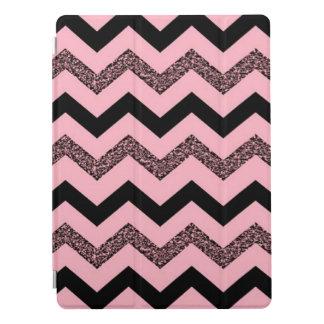"""ピンクのグリッターのシェブロン12.9の"""" iPadのプロ場合 iPad Proカバー"""