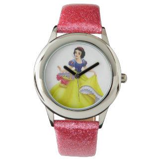 ピンクのグリッターの腕時計 腕時計