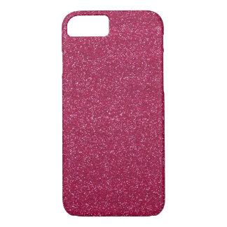 ピンクのグリッターのAppleのiPhone 7のやっとそこに場合 iPhone 8/7ケース