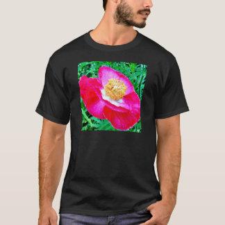 ピンクのケシ Tシャツ