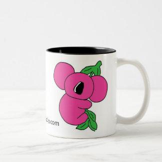 ピンクのコアラのマグ ツートーンマグカップ