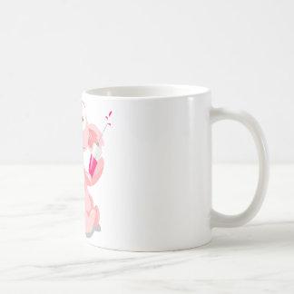 ピンクのコアラ コーヒーマグカップ