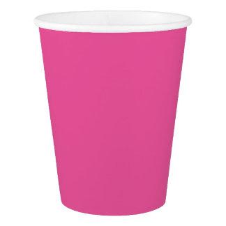 ピンクのコレクションのテンプレートのdiy変更色は文字を加えます 紙コップ