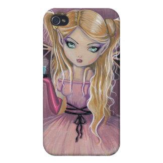 ピンクのゴシック様式ピンクの吸血鬼のiPhoneの場合のAdeline iPhone 4 Cover