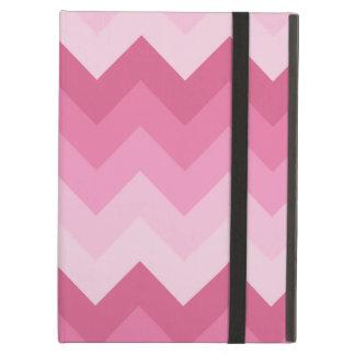 ピンクのシェブロンパターン