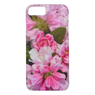 ピンクのシャクナゲの花のiphoneの場合 iPhone 8/7ケース