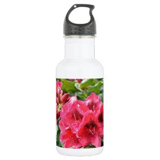 ピンクのシャクナゲの花 ウォーターボトル