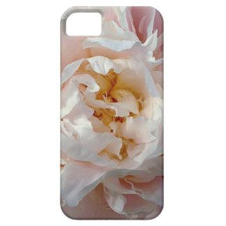 ピンクのシャクヤクの水彩画の花のデザイン iPhone SE/5/5s ケース