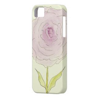 ピンクのシャクヤクの花の箱 iPhone SE/5/5s ケース