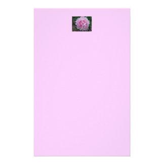 ピンクのシャクヤクの静止したNotepaper 便箋
