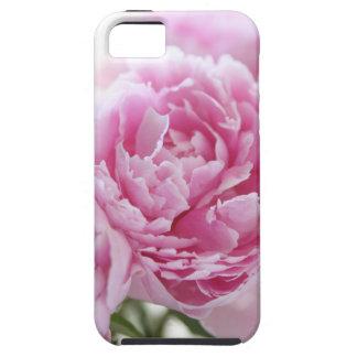ピンクのシャクヤクのiPhone 5の堅い場合 iPhone SE/5/5s ケース