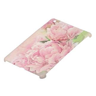 ピンクのシャクヤク iPad MINI カバー