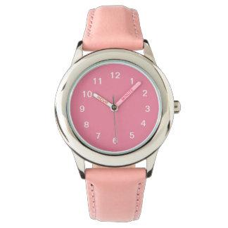 ピンクのシャーベット 腕時計