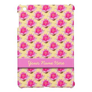 ピンクのスイレンの黄色 iPad MINI CASE