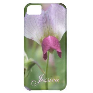 ピンクのスイートピーのiPhone 5の場合の*personalize* iPhone5Cケース