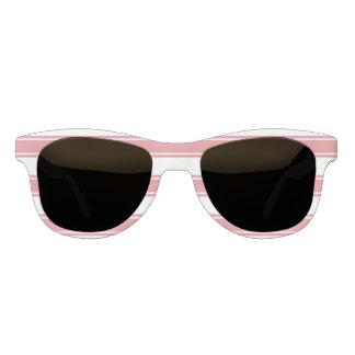 ピンクのストライプの習慣色 サングラス